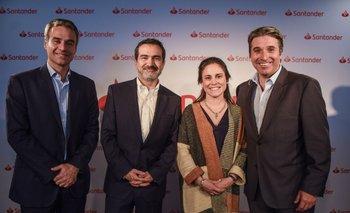 Pablo Gaudio, Juan Carlos Chomal, Ximena Pullares y Gustavo Trelles