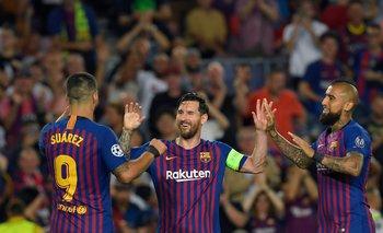 Barcelona Suárez Messi