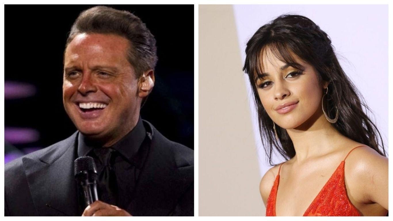 Así disfrutó Camila Cabello del concierto de Luis Miguel en California