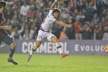 El momento del gol de Bergessio
