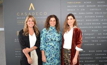 Ximena Arcos Pérez, Carina Martinez y Renatta Battion