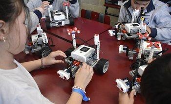 Clases de robótica para alumnos de primaria