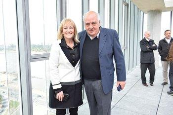Carolina Cosse y Ricardo Magnone