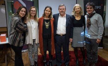 Giselle Comparin, Graziella Blengio, Lital Bajarlia, Alberto Bajarlia, Sandra Jablonka y Jorge Migues