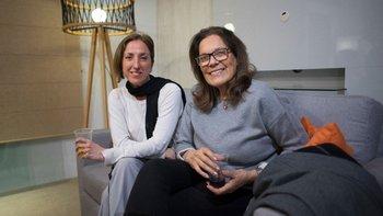 Sonia Pérez y Ana María García
