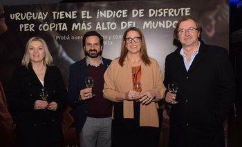 Sandra Torrado, Juan Andrés Marichal, Karia Spremolla y José María Lez