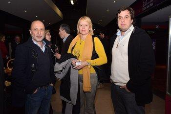 Fernando Folena, Alba Dardanelli y Diego Comesaña