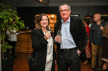 Elizabeth Areano y Ariel Casao
