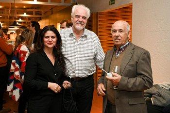 Titina Nuñez, Fernando Brum y Juan Bouza Martinez