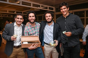 Joaquin Cura, juan Pablo Bouza, Manuel Bouza y Gonzalo Soto