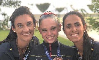 Virginia Villalba, Alba García y Florencia Rodrigo