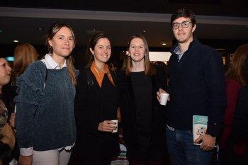 Florencia Robuschi, Magdalena Abel, Florencia Cioli e Ignacio Viera