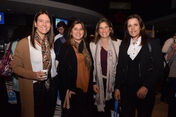 Victoria Risso, Soledad Gattás, Valentina Sanchez Varela y Virginia Supervielle