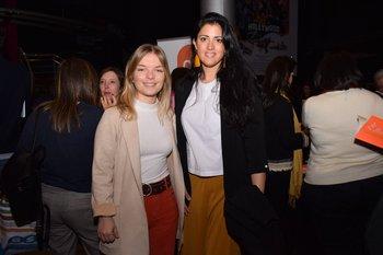 Agostina Legnani y Lucia Cabanas