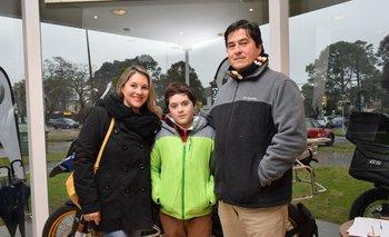 Alicia Lopez, Matias y Andres Garcia
