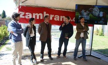 El lanzamiento del remate se realizó en las oficinas de Zambrano & Cía.