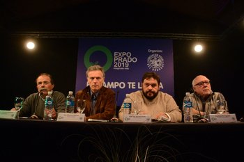 Inocencio Bertoni, Eduardo Blasina, Ignacio Buffa y Rodolfo Irigoyen.