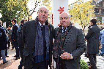 Daniel Leoncini y Fernándo Couste