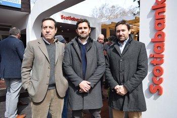 Daniel Pasca, Pablo Chiesa e Ignacio Noguez