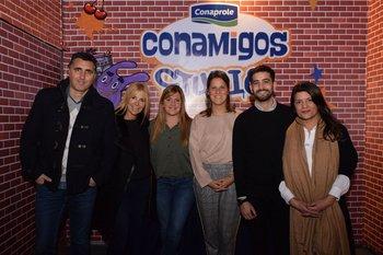 José Pereira Machado, Virginia Miranda, Valeria Stella, Cecilia Menendez, Matias Pérez, Ximena Fernández