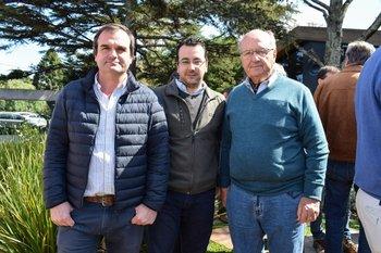 Facundo Schauricht, Gonzalo Acosta y Eduardo De Lucchi