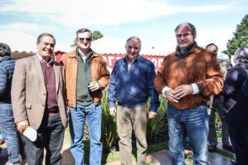 Gerardo Zambrano, Jorge Fazio, Pablo Zerbino y Álvaro Díaz Nadal