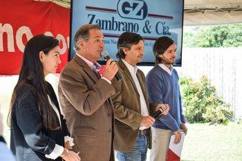 María, Gerardo, Alejandro y Agustin Zambrano
