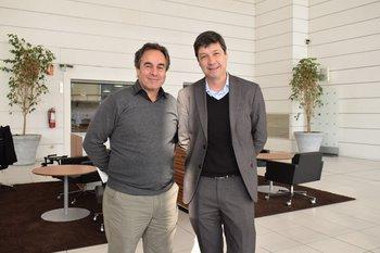 Luis Piedra Cueva y Oscar Cestau