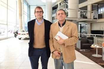 Nicolás Scheck y Marcelino Iroldi