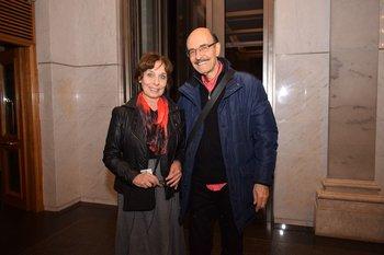Elisa Contreras y Jorge Bolani