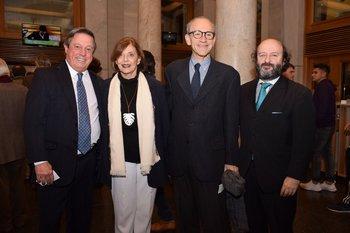 Gustavo Cristiani, Vera Heller, José Miguel Onaindia y Gustavo Amadeo