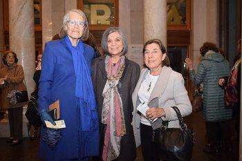 Cecilia Pérez Mondino, Anahid Balian y Paz De Santortún