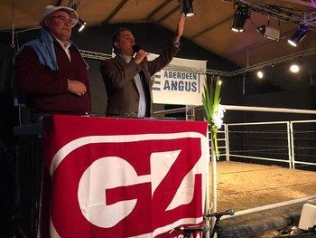 Álvaro Díaz Nadal junto a Gerardo Zambrano.