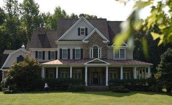 La casa donde supuestamente vive Oleg Smolenkov y su familia en Stafford, Virginia, Estados Unidos.