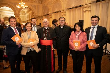 Álvaro Martínez, Verónica Trías, Martín Aldabalde, Daniel Sturla, Julio Fernández Techera, Gladys Yanayacu y Federico Reyes