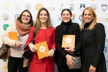 Analí Baraibar, Paola Marenco, Florencia de León y María Arteaga