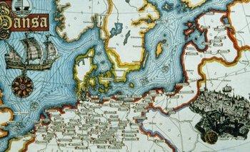 La Liga Hanseática conectaba a cientos de Hansa -gremios, en alemán- en todo el norte de Europa.