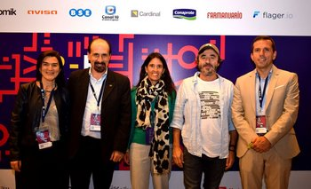 Natalia Moris, Eduardo Hipogrosso, Isabel Álvarez, Pablo Granados y Martin González
