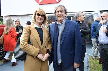 Laura Clavera y Pablo Lecueder