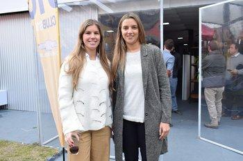 Andreina Bocking y Victoria Abal