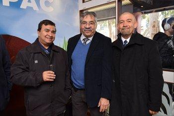 Nelson Pereira, Ulises Maciel y Victor Toneo