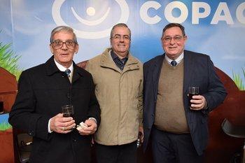 Balbino Pintos, Jorge Alonso y Miguel Pérez