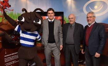 Gabriel Gorondona, Jorge Sellanes y Jorge Vilela