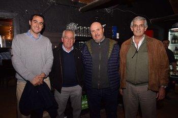 Ignacio Otegui, Alfredo Morales, Juan Parra y Gabriel Fernández