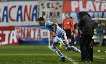 Emiliano Martínez en su debut en Nacional