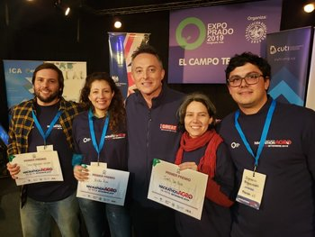 Juan Ignacio Sartori, Erika Poses, Ian Duddy, Ines Da Rosa e Ignacio Figueredo.
