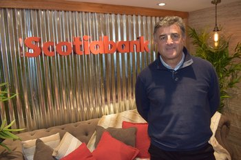 Alberto Noria, ejecutivo de Scotiabank.