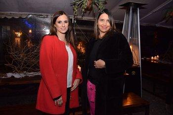 Jandrina Izaurralde y Caren Balsamo