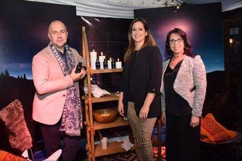 Pablo Schenfeld, Analia Guisande y Laura Olague