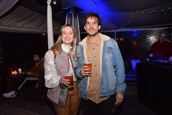 Delfina Quartara y Guillermo Nicola